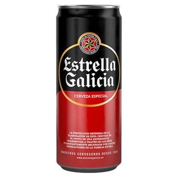Imagen de ESTRELLA GALICIA ***LATA*** 33CL 5,5º (24 UDS)