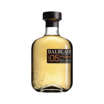 Imagen de BALBLAIR WHISKY MALTA 70CL 46º