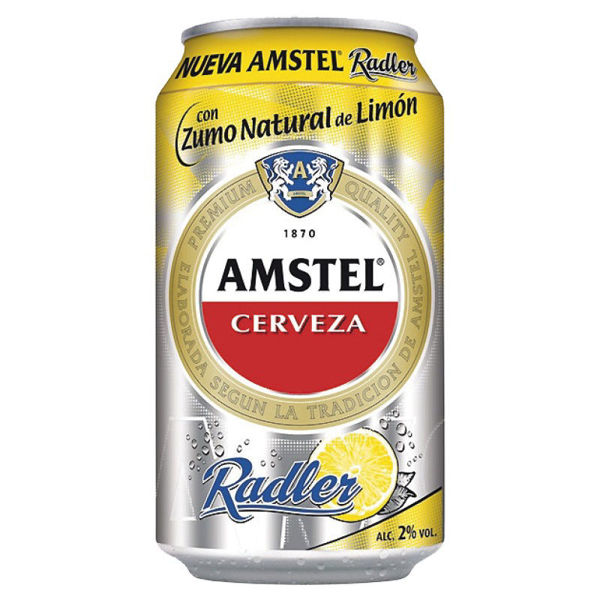 Imagen de AMSTEL RADLER LATA 33 CL 2º 24 UNIDADES
